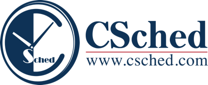 CSched logo
